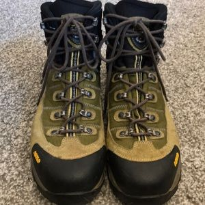 Asolo men's hiking boots.